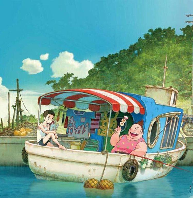 """""""普通""""じゃない母娘の物語に共感の声が続々!『漁港の肉子ちゃん』「愛の絆にジーンときた」"""