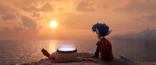 亡くなった父親に一目会いたいと願う内気な少年イアンの姿が涙を誘う