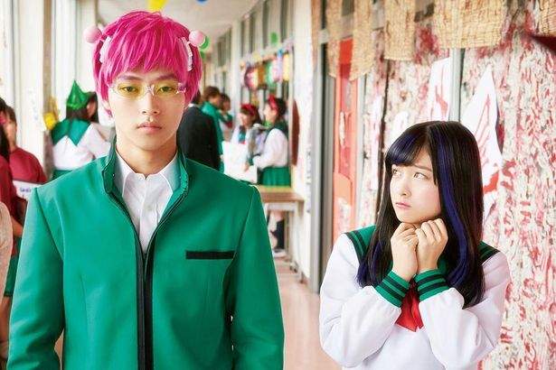 ピンク髪も超能力で普通に見せちゃう斉木(『斉木楠雄のΨ難』)