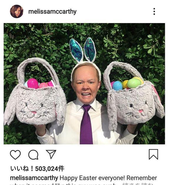 画像はメリッサ・マッカーシー(@melissamccarthy)公式Instagramのスクリーンショット