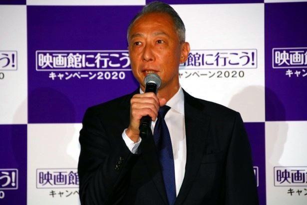 「映画館に行こう!」実行委員会の委員長を務める松岡宏泰氏