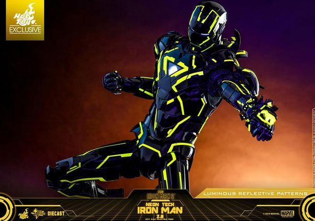 ほしい!ほしすぎる!(「【ムービー・マスターピース DIECAST】 『アイアンマン2』1/6スケールフィギュア アイアンマン・マーク6(ネオンテック/イエロー版)」)