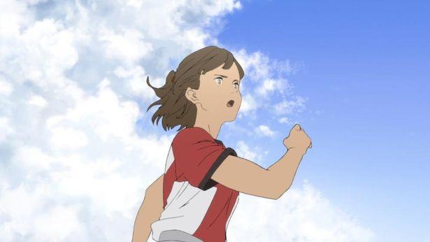 主人公で陸上競技でオリンピック出場を目指す14歳の武藤歩
