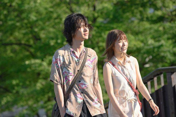 永田と沙希が代々木公園でデート