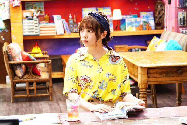 主人公のいとこでクールな女子大生、古手川千紗を演じている