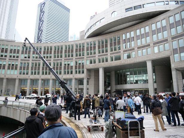 【写真を見る】都議会議事堂が警視庁に!「S.W.A.T. シーズン3」の日本ロケを追う