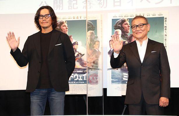 『ミッドウェイ』の公開記念初日トークイベントが開催された
