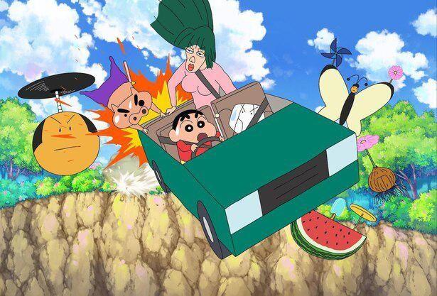 『映画クレヨンしんちゃん 激突!ラクガキングダムとほぼ四人の勇者』が初登場1位に