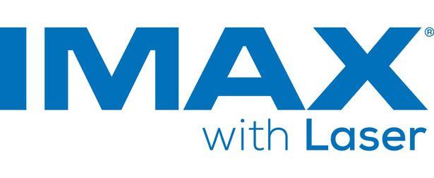 IMAX LASERロゴ