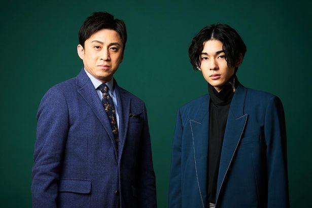 『 シネマ歌舞伎 三谷かぶき 月光露針路日本 風雲児たち』で親子共演を果たした松本幸四郎と市川染五郎