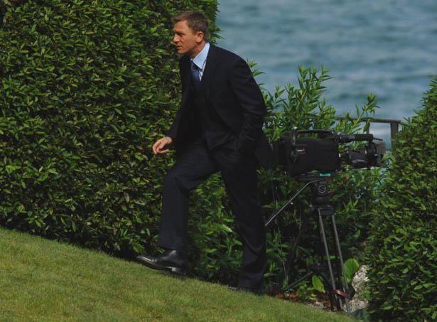 1作目となった『007 カジノ・ロワイヤル』のメイキング