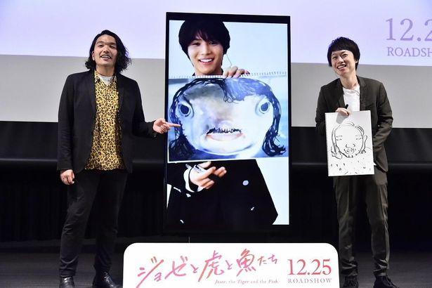 アニメ映画『ジョゼと虎と魚たち』大ヒット祈願イベント in 海遊館」が開催