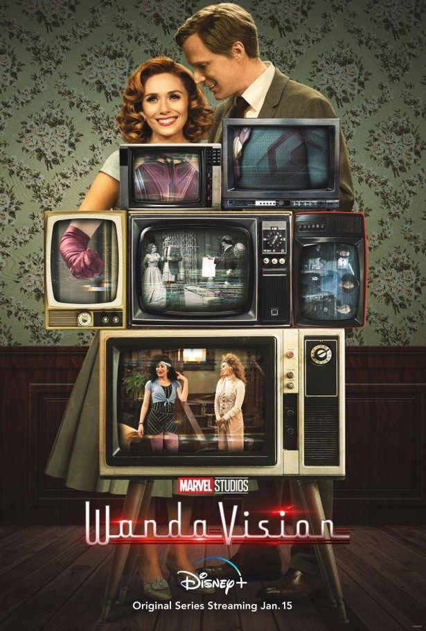 マーベルからは初シリーズ作品「ワンダビジョン」が来年配信開始に