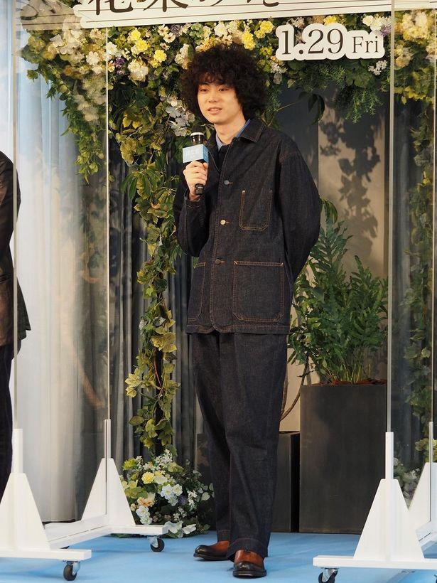 『花束みたいな恋をした』完成報告イベントでの菅田将暉
