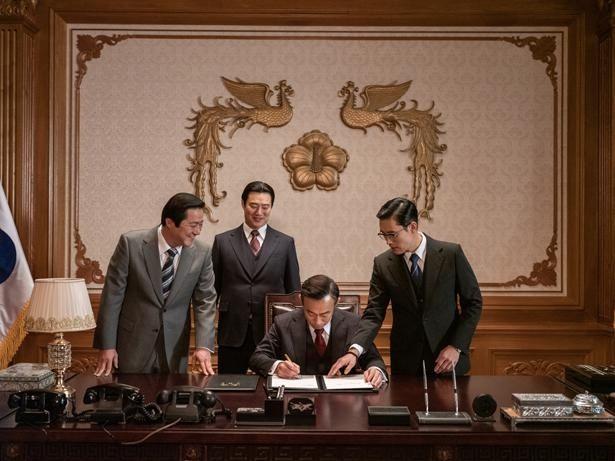 パク・チョンヒ大統領は、1961年から18年に渡り韓国を支配した(『KCIA  南山の部長たち』)