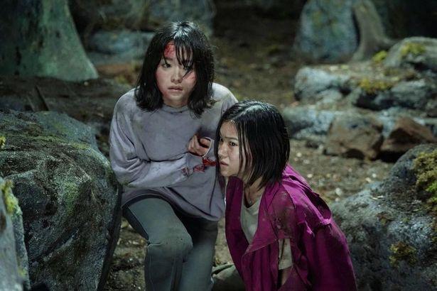 """富士の樹海と""""コトリバコ""""の呪いに触れてしまった姉妹に迫る恐怖が描かれていく…"""