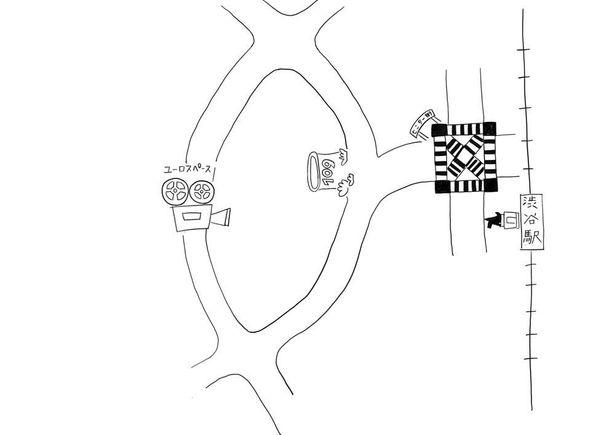 南沙良直筆の周辺マップ!