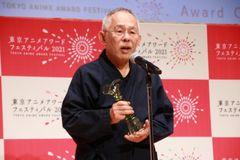 アニメ功労部門を受賞した鈴木敏夫プロデューサー