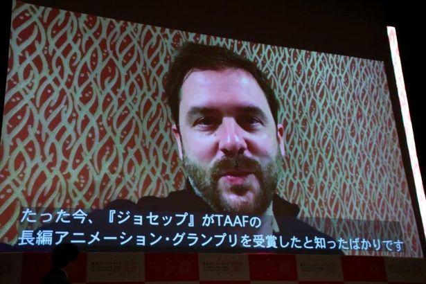 長編優秀賞・グランプリを受賞した『ジョセップ』のオーレル監督
