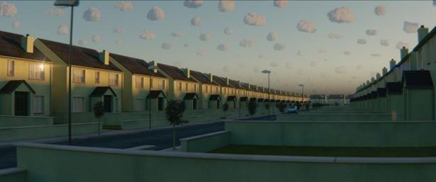 """同じ家が立ち並ぶ奇妙な住宅地""""Yonder(ヨンダー)""""とは?(『ビバリウム』)"""