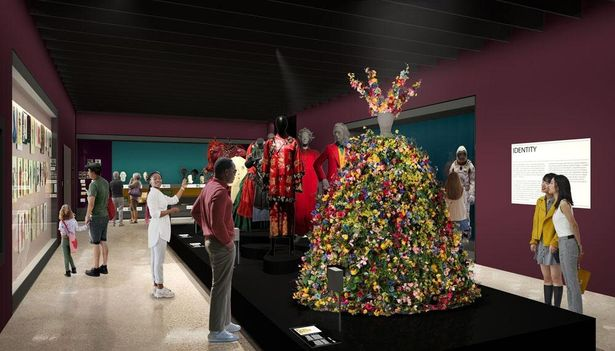 A24のチャリティ・オークションで落札された『ミッドサマー』のフラワードレスも展示される予定