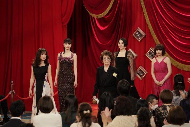 第44回⽇本アカデミー賞授賞式、レッドカーペットの様子
