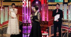 日本アカデミー賞授賞式で、ドレスアップした俳優たちが美の競演!