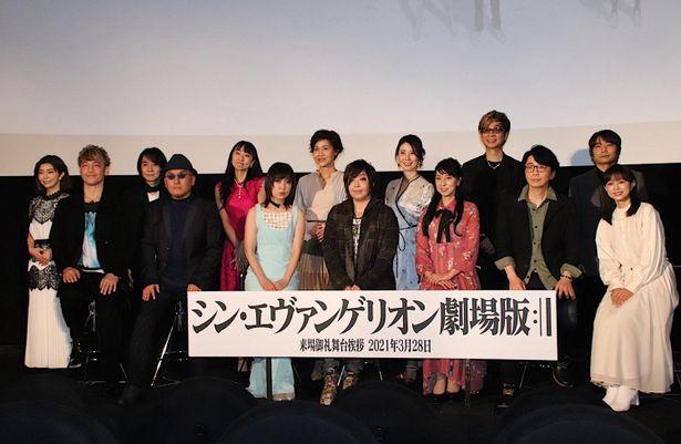 【写真を見る】緒方恵美、林原めぐみ、宮村優子…豪華すぎる舞台挨拶の様子
