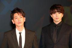『るろうに剣心 最終章 The Final』のイベントに登壇した佐藤健と新田真剣佑