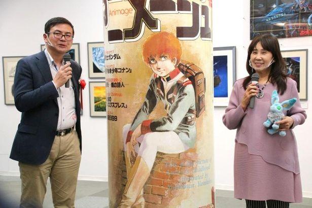 高橋望と島本須美が見どころを解説