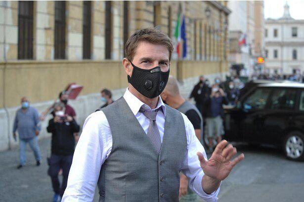 トムは現在、ロンドンで「ミッション:インポッシブル」シリーズ最新作の撮影中