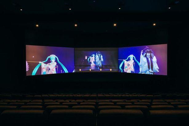 【写真を見る】ド迫力!「3面スクリーン版 超歌舞伎」