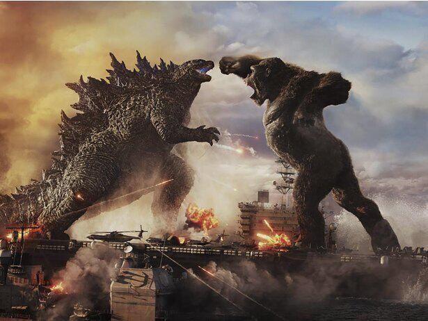 『ゴジラvsコング』は首位陥落も世界興収4億ドル突破