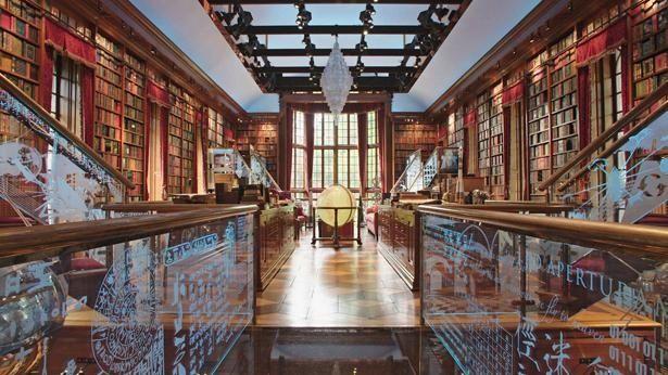 コネチカットにある個人図書館、ウォーカー人類想像史図書館への取材も(『ブックセラーズ』)
