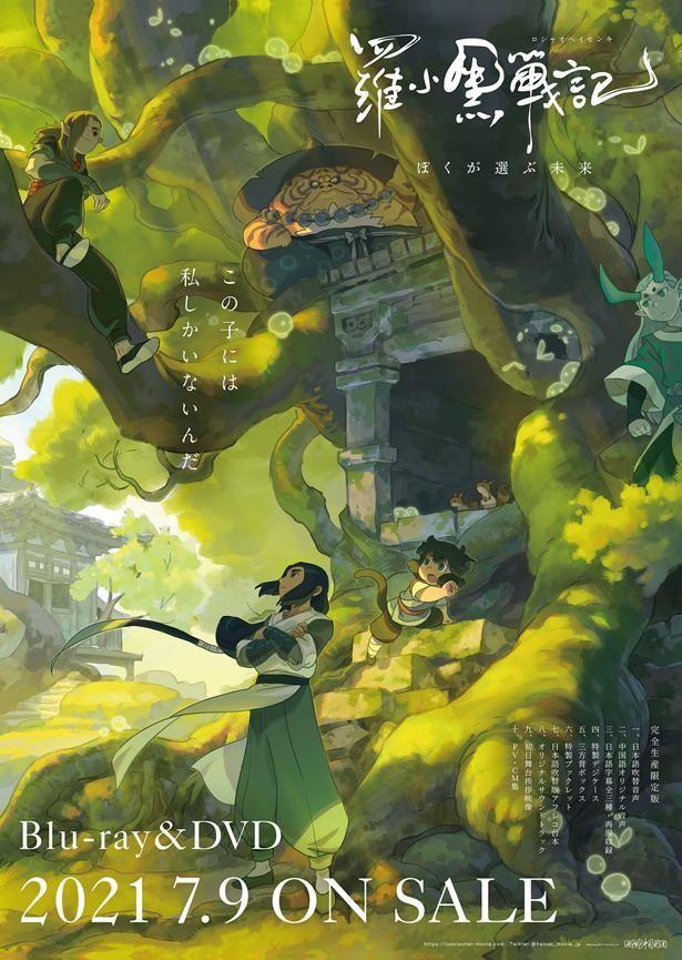 森の開発で居場所を失った黒ネコの妖精シャオヘイが、住処を追われた妖精たちと人間たちとの戦いに巻き込まれていく