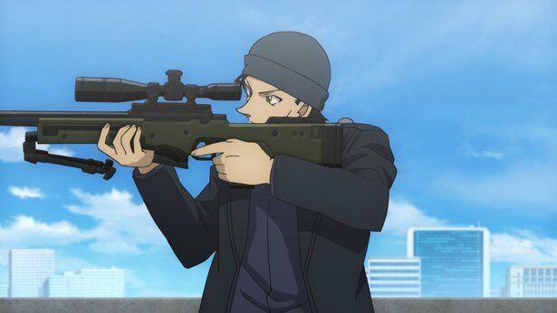 シリーズ屈指の人気を誇る赤井秀一が活躍する『名探偵コナン 緋色の弾丸』
