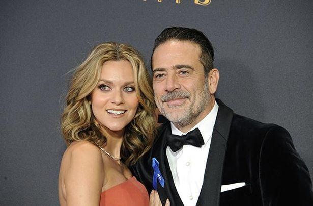 『TWD』シーズン10でも共演した妻のヒラリー・バートン
