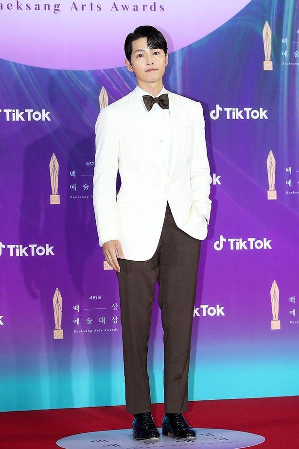 「ヴィンチェンツォ」でテレビ部門主演男優賞にノミネートされたソン・ジュンギ