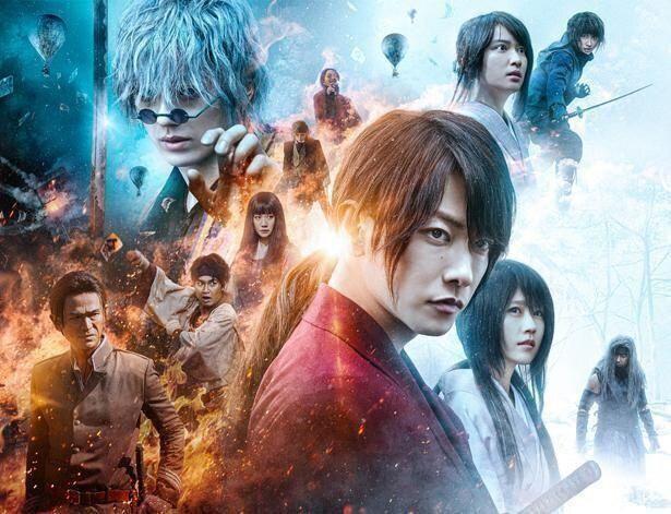 『るろうに剣心 最終章 The Final』が2位となり、二部作がワンツー獲得!