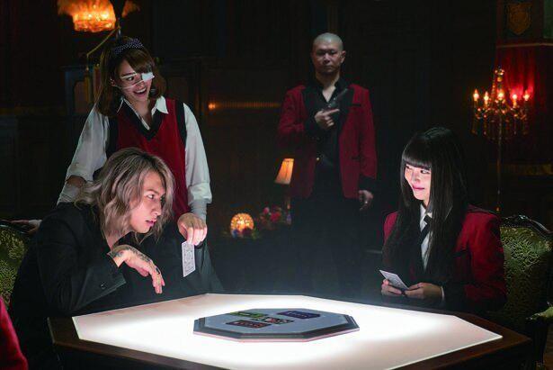 『映画 賭ケグルイ 絶体絶命ロシアンルーレット』が8位スタート