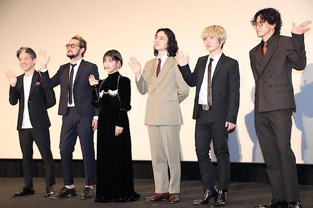 『キャラクター』の初日舞台挨拶が開催された