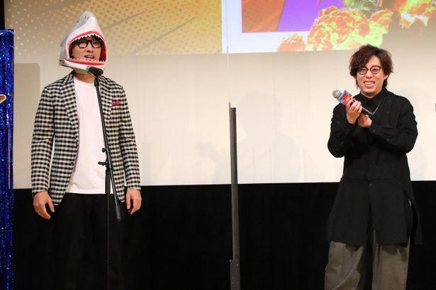 日野聡、こがけんのハリウッド映画ものまねに爆笑!