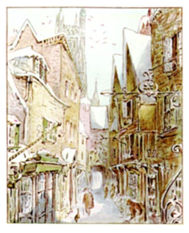 『ピーターラビット2/バーナバスの誘惑』ではグロスターの街並みが登場する