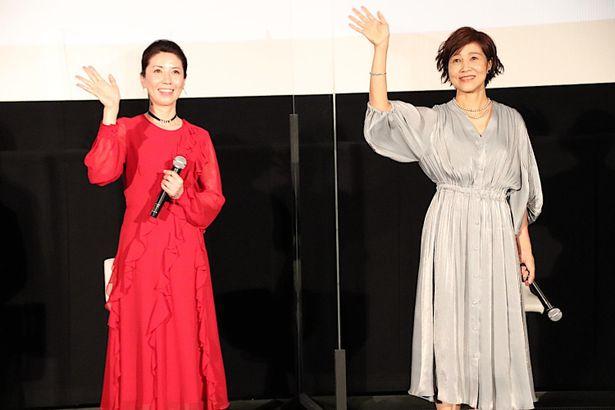 【写真を見る】「大好き」とお互いに告白し合った三石琴乃&山口由里子