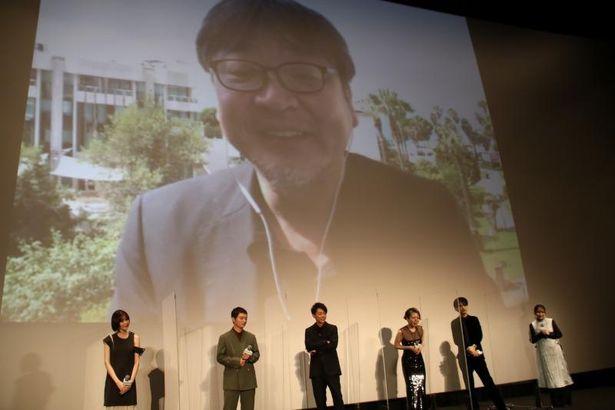 本作を手掛けた細田守監督がカンヌからリモートで参加