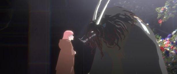 ベルと竜が心を通わせていく