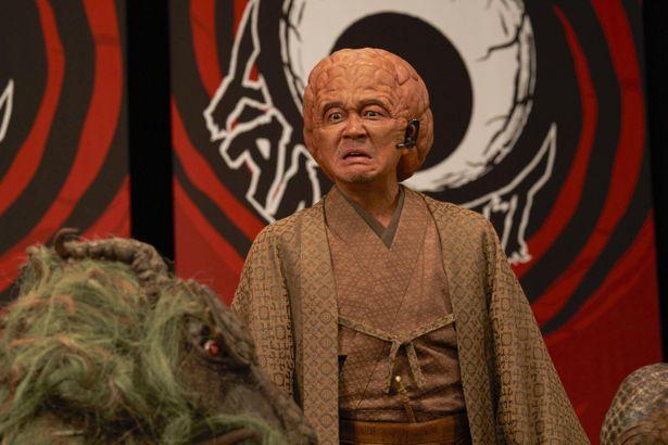 大森南朋が演じる、日本の妖怪たちの総大将ぬらりひょん