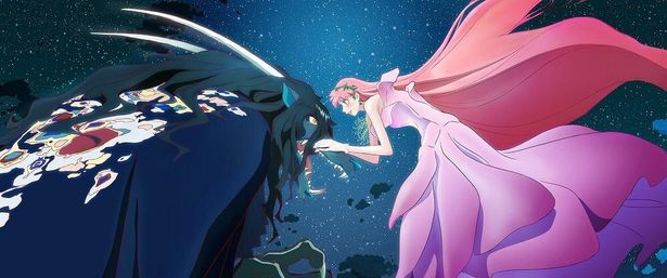 美女と野獣をモチーフとした『竜とそばかすの姫』