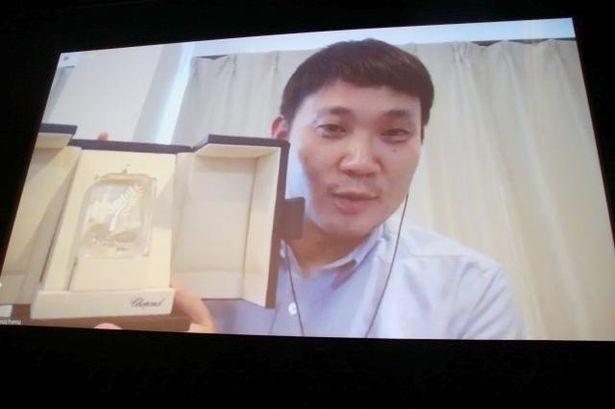 【写真を見る】第74回カンヌ国際映画祭で4冠を受賞した濱口竜介監督、西島秀俊は「たたずむ力のある方」