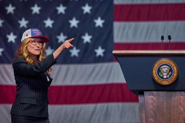【写真を見る】メリル・ストリープが大統領に。豪華キャスト集結のNetflix映画『ドント・ルック・アップ』